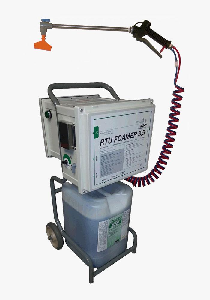 Endoscopy Cleaning Room: RTU Foaming Enzymatic System : RTU Foamer 3.5